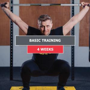 Basic Training – 4 Weeks