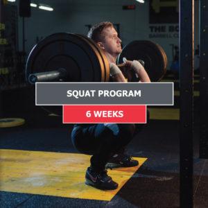Squat Program – 6 Weeks